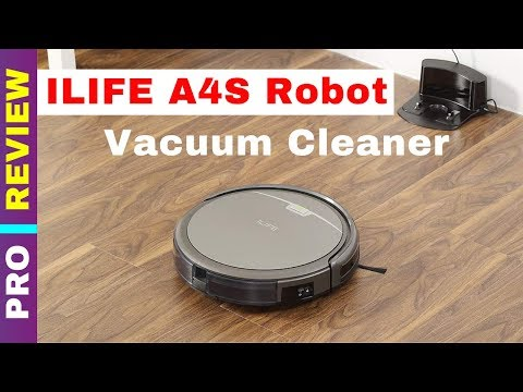 ILIFE A4s Robot Vacuum Cleaner Review