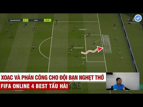 FIFA ONLINE 4 | Tuyền Văn Hóa chơi 3 vs 3 tấu hài cực mạnh với 9 hậu vệ vẫn vùi dập đối thủ