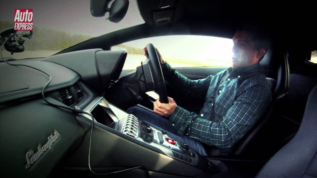 lamborghini aventador review (top speed) - auto express - youtube