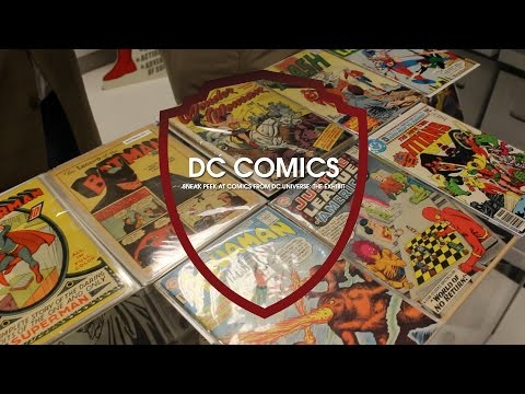 Inside the DC Comics Library