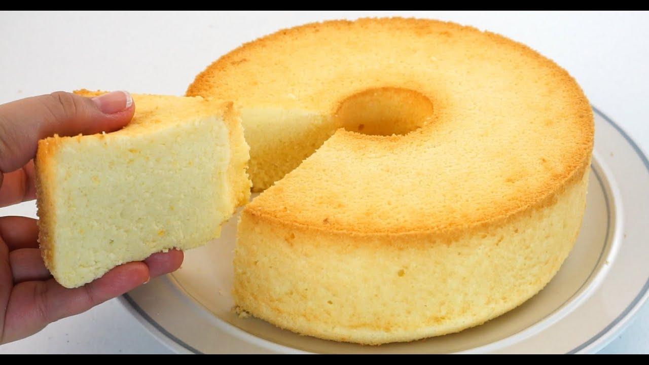 Orange Chiffon Cake So Fluffy And Pillowy Soft!