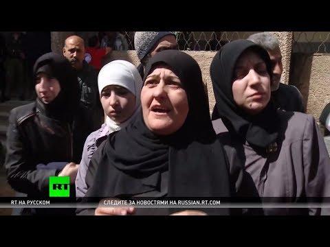 Из Восточной Гуты за ночь вышли 52 мирных жителя