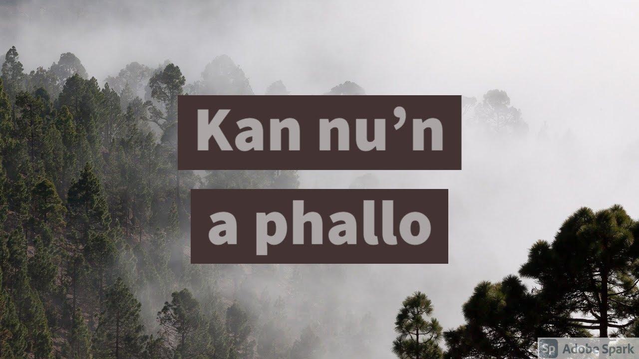 El Byrd Ft. Smiley, Fabian - Kan nu'n a phallo ( Official Lyric Video )
