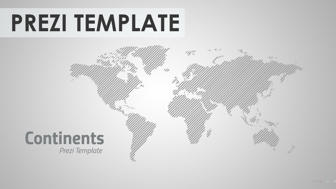 continents prezi template youtube