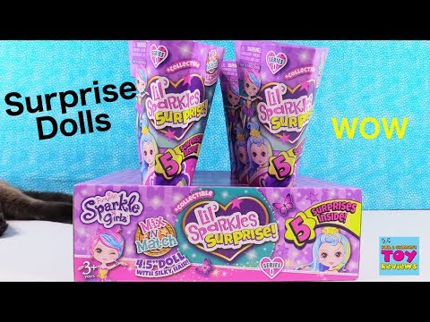 Funville Sparkle Girlz Lil Sparkles Surprise Blind Bag Doll Opening | PSToyReviews