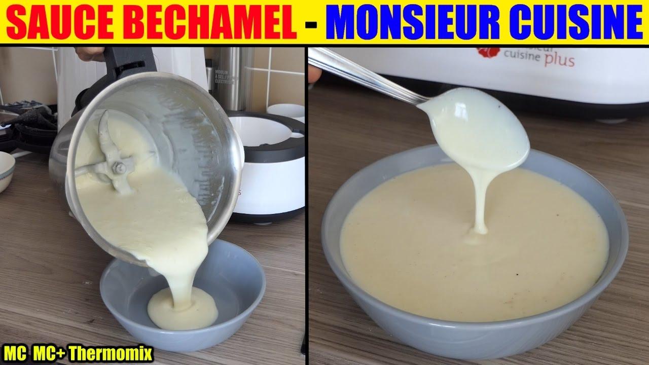 Sauce bechamel monsieur cuisine plus lidl silvercrest thermomix skmk 1200 youtube - Monsieur cuisine plus vs thermomix ...