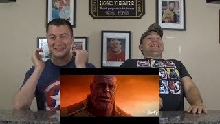 Avengers: Infinity War - (X-Men: Days of Future Past Style) REACTION!!!