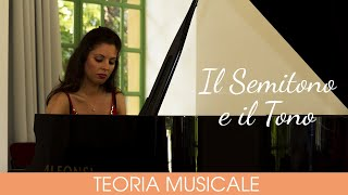 Teoria musicale #1 Il Semitono e il Tono al Pianoforte