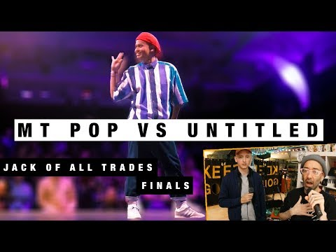 MT POP VS UNTITLED JACK OF ALL TRADES FINALS WITH THE SCANDINAVIATOR
