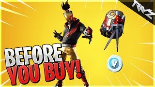 Before You Buy New Red Strike Starter Pack! Should You Buy New Red Strike Skin? (Fortnite)