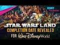 Potential Completion Date Revealed For Star Wars Land at Walt Disney World - Disney News - 7/27/17