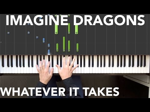 Imagine Dragons - Whatever It Takes Piano tutorial | Sheets