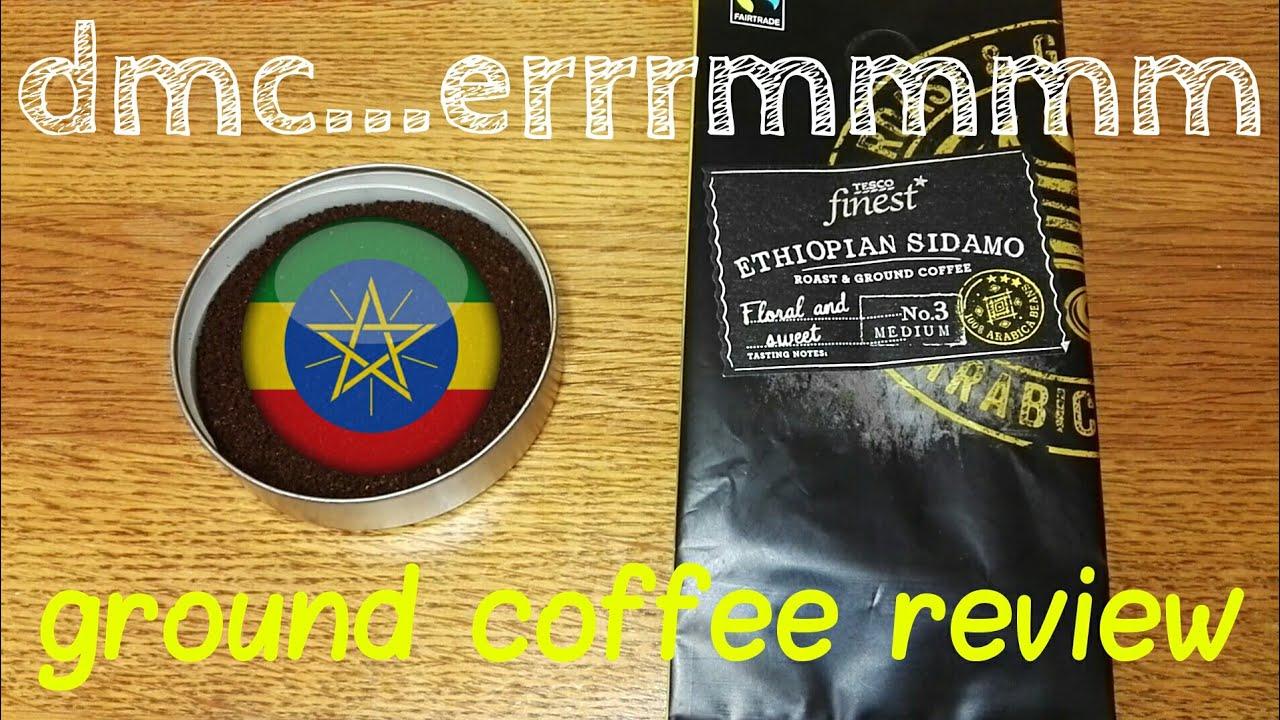 Tesco Finest Ethiopian Sidamo Roast Ground Coffee Review