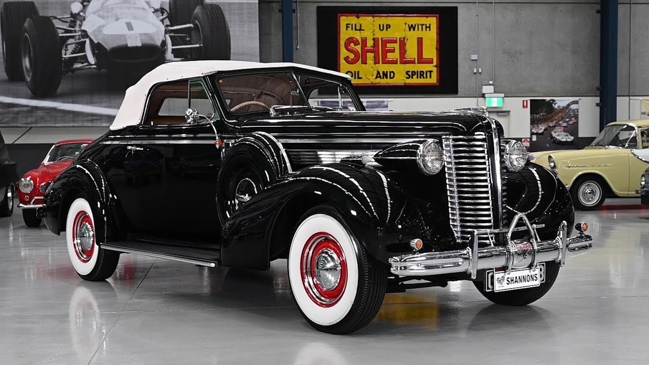 1938 Buick 66C Century '8cyl' Roadster (RHD) - 2020 Shannons Winter Timed Online Auction