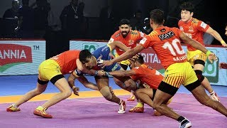 Pro Kabaddi 2018 Highlights | Gujarat FortuneGiants vs UP Yoddha | Hindi