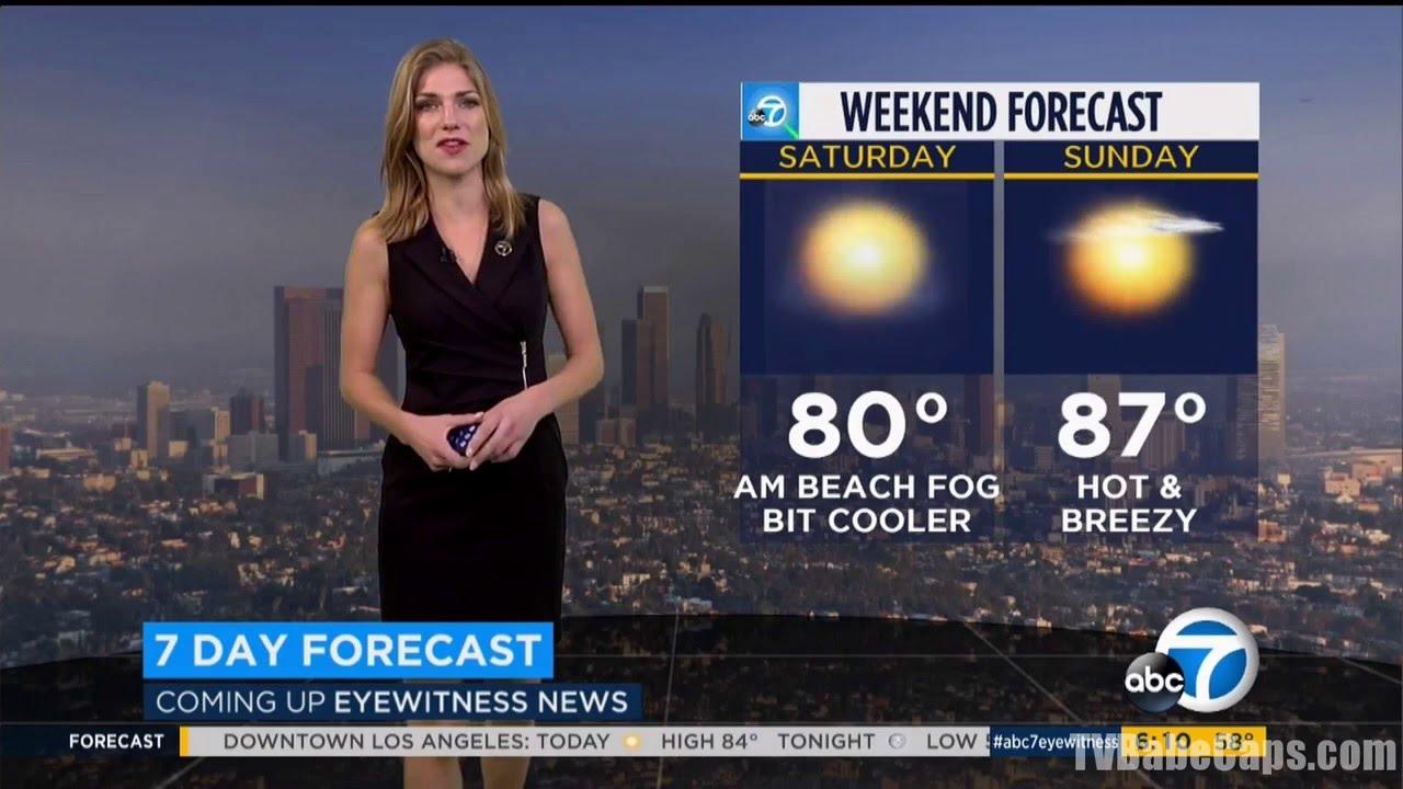 Bri Winkler - ABC7 Los Angeles HD 02/12/2016 - YouTube