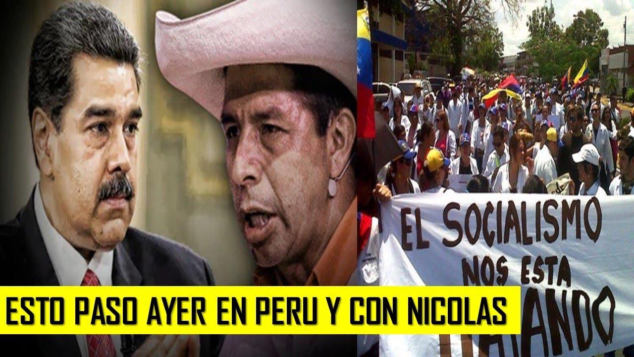 🔴 !ULTIMA HORA ! HOY 31 JULIO - EL PEOR RECIBIMIENTO PARA NICOLAS EN PERU!!!!🔥🔥🔥