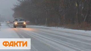 Непогода в Украине: без света 170 сел, Киев закрыли для фур