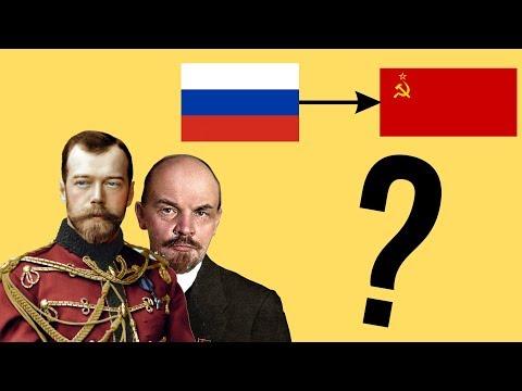 Почему началась революция в России?