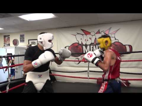 action packed sparring lee selby vs andrew selby - EsNews Boxing