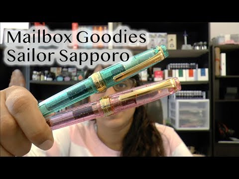 Mailbox Goodies Sailor Pen House Sapporo Fountain Pens