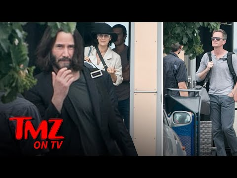 Matrix 4 Filming Resumes With Keanu Reeves, Carrie Anne Moss, Neil Patrick Harris Back | TMZ