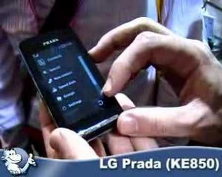 LG Prada (KE850)