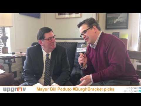 Mayor Bill Peduto Predicts #BurghBracket Final Four