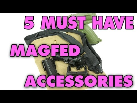 5 Must Have Accessories for Magfed | Defcon Paintball Gear