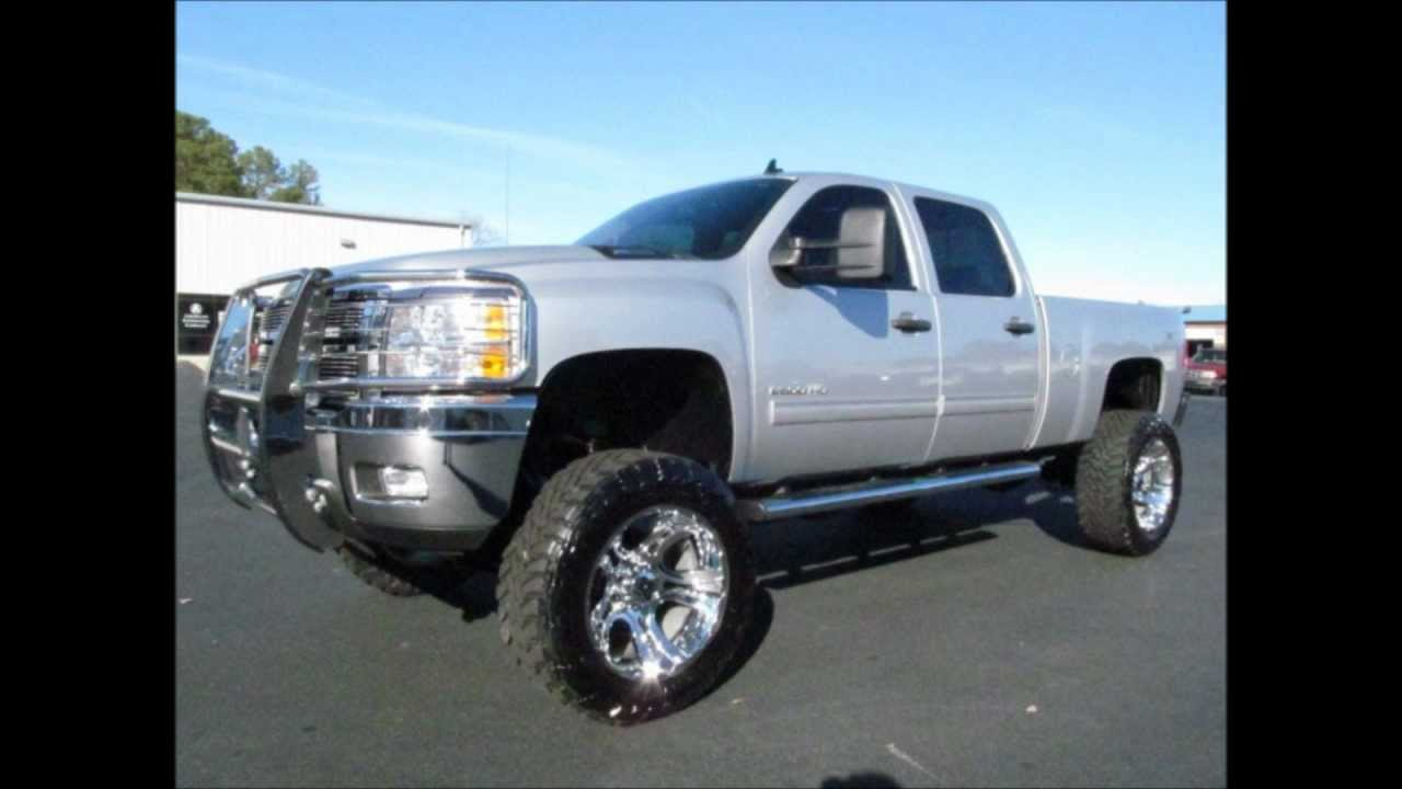 2011 Chevy Silverado 2500HD Diesel Lifted Truck For Sale ...