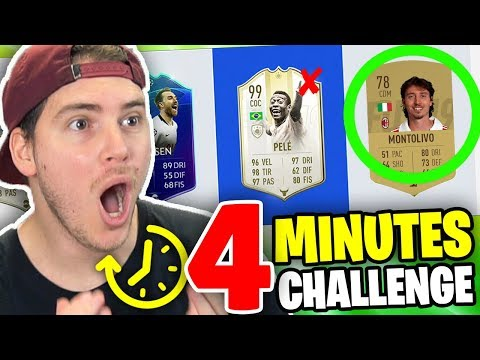 4 MINUTES DRAFT CHALLEGE EPICA!!! - FIFA 19