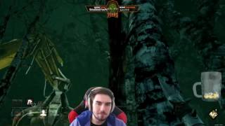 Dead by Daylight 72hrs funny moments, facecamped by Quizzle #42