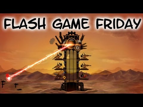 Flash Game Friday - Steam Punk Tower