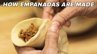 How Empanadas Are Made Tasty