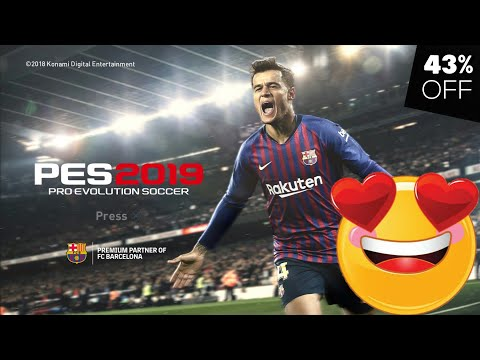 43% OFF on PES 2019 PC (Steam Key)🔥 | PAY ONLY 33$ instead 51$ | '1' PES 2019 Steam Key Giveaway