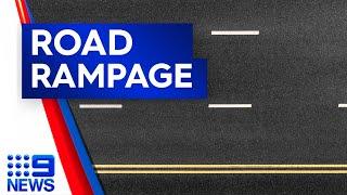 Driving rampage through Mandurah Mall I 9News Perth
