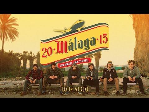 Skateboarding in Málaga 2015 - San Miguel aber schnell Tour