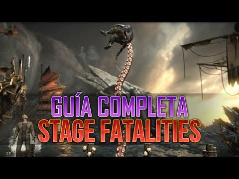 MKXL | Guía Completa | Stage Fatalities/Remates de Escenario | Combinaciones de todos los personajes