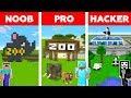 Minecraft Battle: NOOB Vs PRO Vs HACKER: ZOO TYCOON In Minecraft / Animation