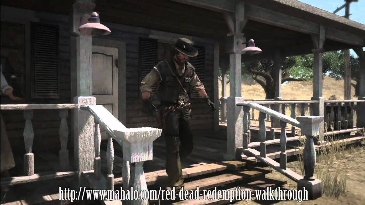 red dead redemption walkthrough pdf