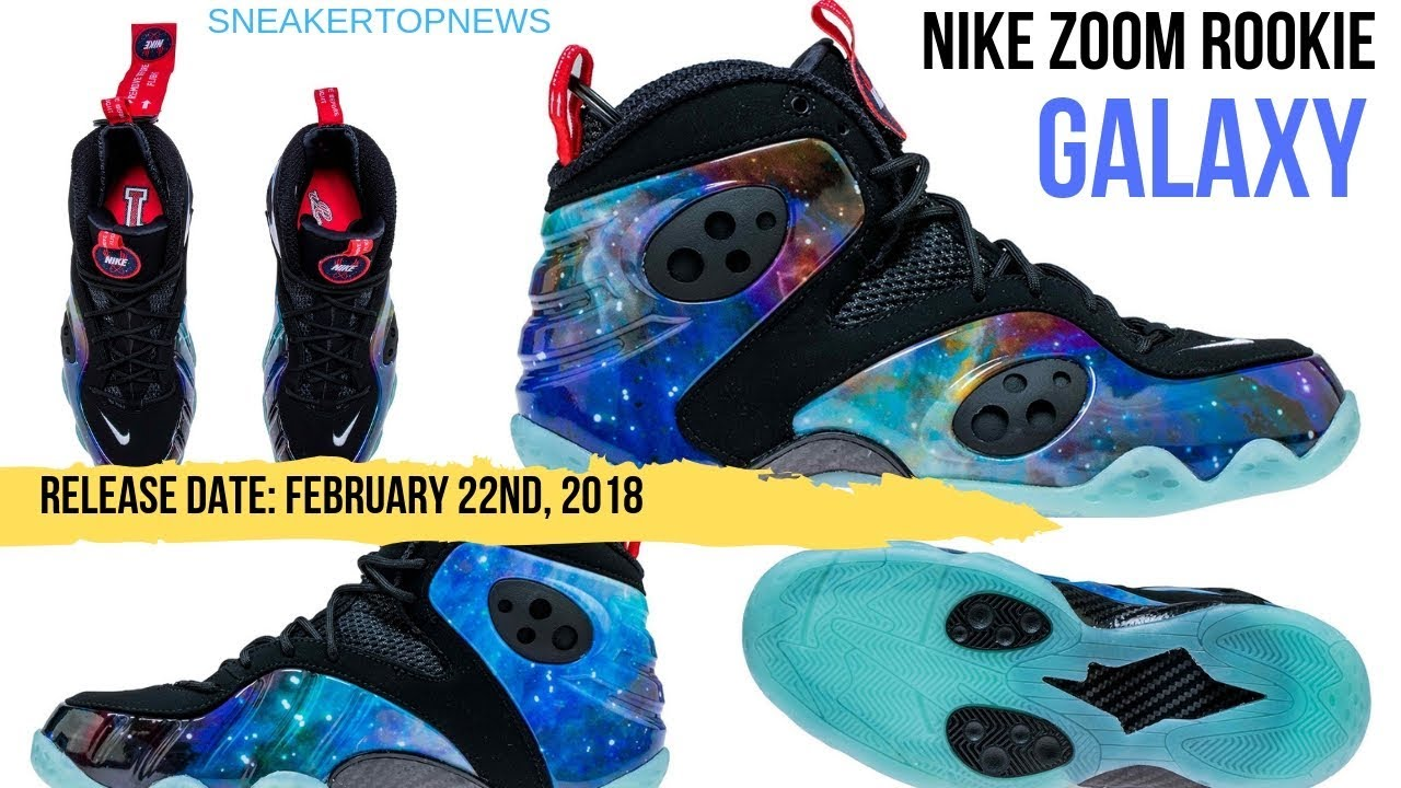 "8932ae4101be The Nike Zoom Rookie ""Galaxy"" Returns On February 22nd"