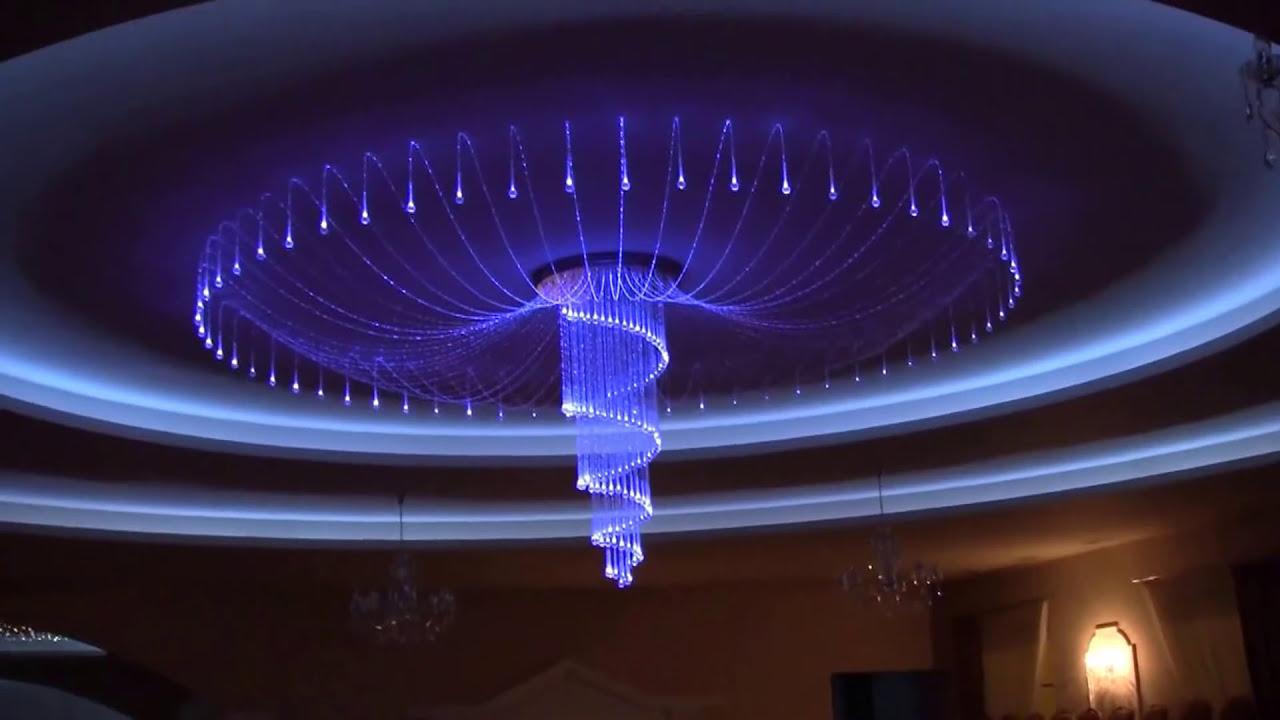 Fiber Optic Chandellier. Decorative Lighting. Led Lighting ...