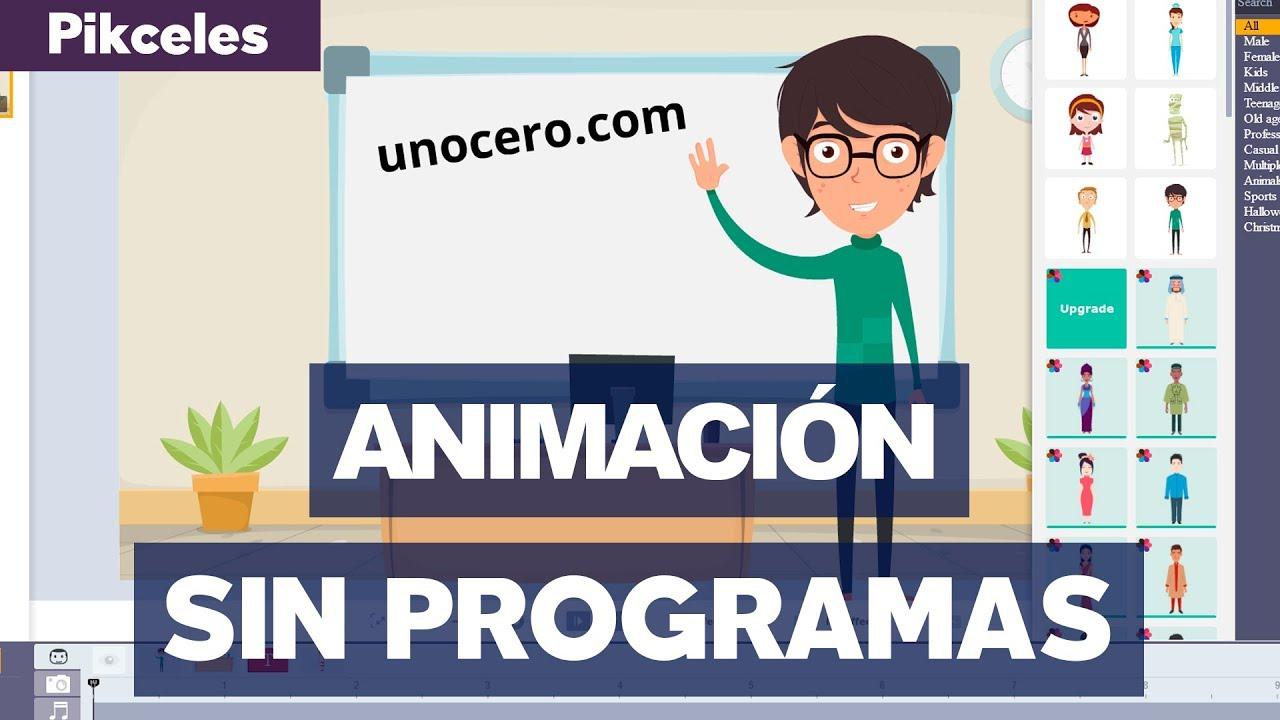 Animaciones Fáciles Sin Programas Pikceles Con At Keyframe