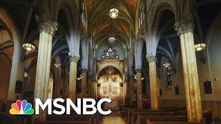 Download lagu Supreme Court Blocks New York Covid-19 Restrictions On Houses Of Worship | MSNBC