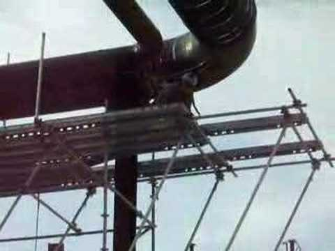 how to build tube and clamp scaffold