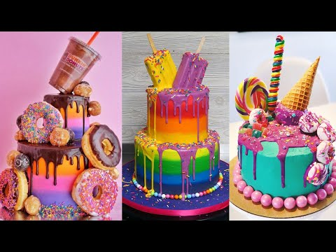 More Colorful Cake