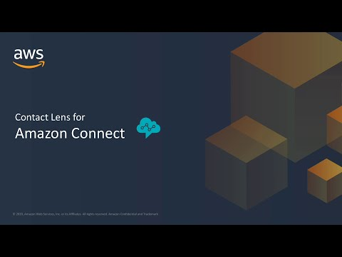 Enterprise Connect 2020 : ML-Powered Analytics with Contact Lens for Amazon Connect