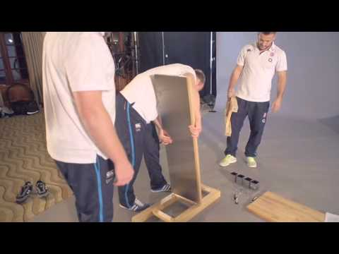 England Rugby Maintenance Task: Building a flat pack