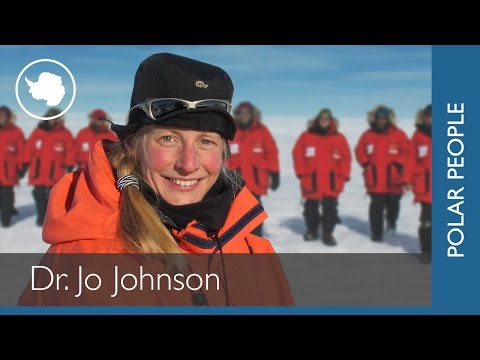 Jo Johnson, Geologist, British Antarctic Survey