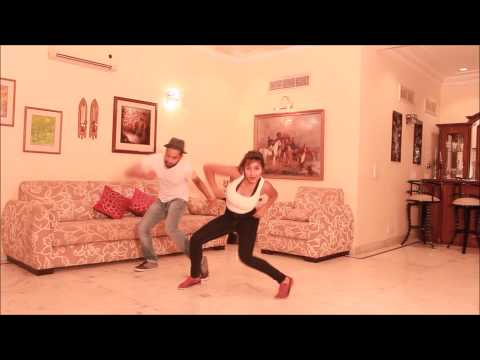 Tera Nasha - The bliz & Kashif  | Urban Dance Center India | VOM May 2015 | Sahaj / Shreoshi
